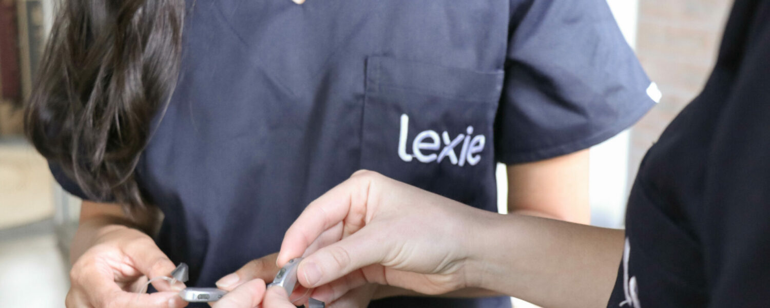 Lexie hearing experts discussing Open Fit Hearing Aid